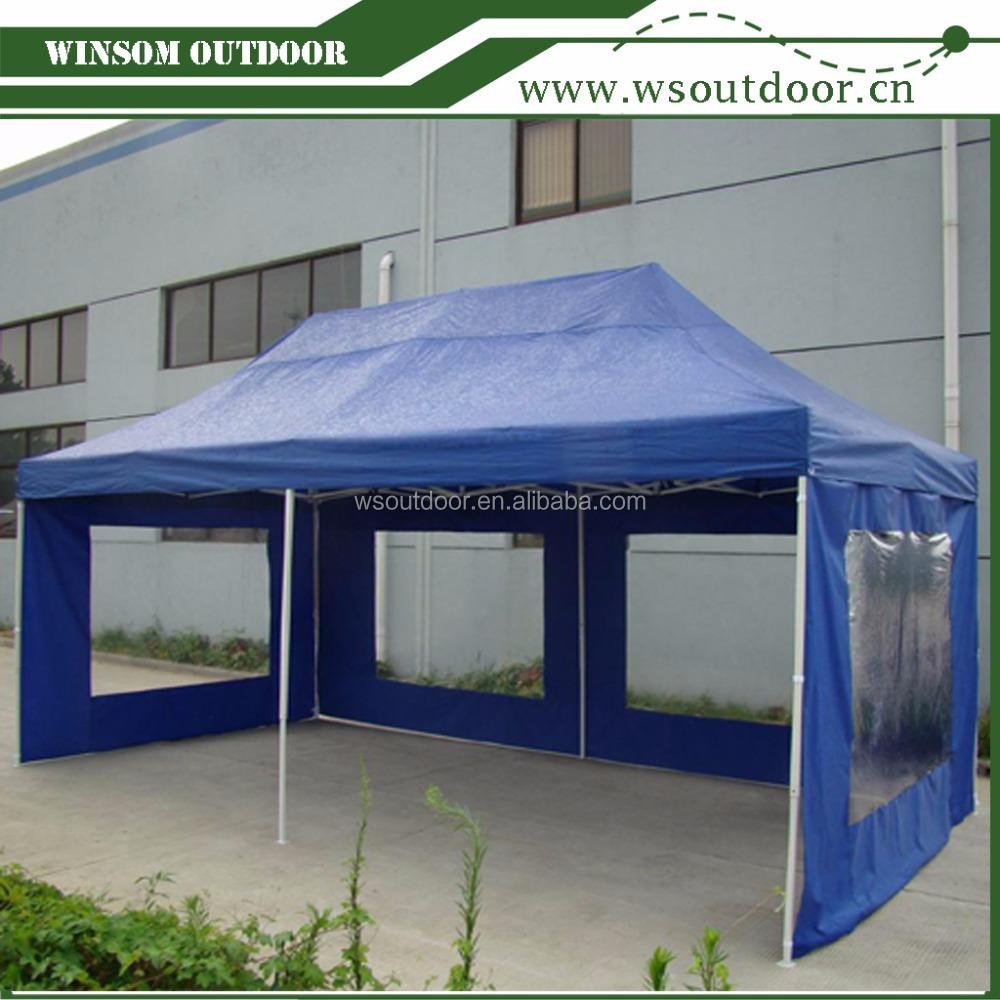 10x20 Pop Up Kanopi Tenda Kanopi Gazebo Komersial Tinggi Dengan