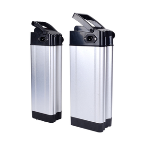 rechargeable silver fish 18650 lithium 10ah 15ah 20ah 36v 48v 1000w ebike battery