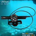 Brinyte DIV18 360 Degree Rotation Mask Diving LED Flashlights