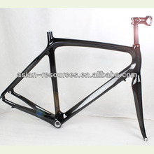 Cheap 700C carbon road bike/bicycle tt frame