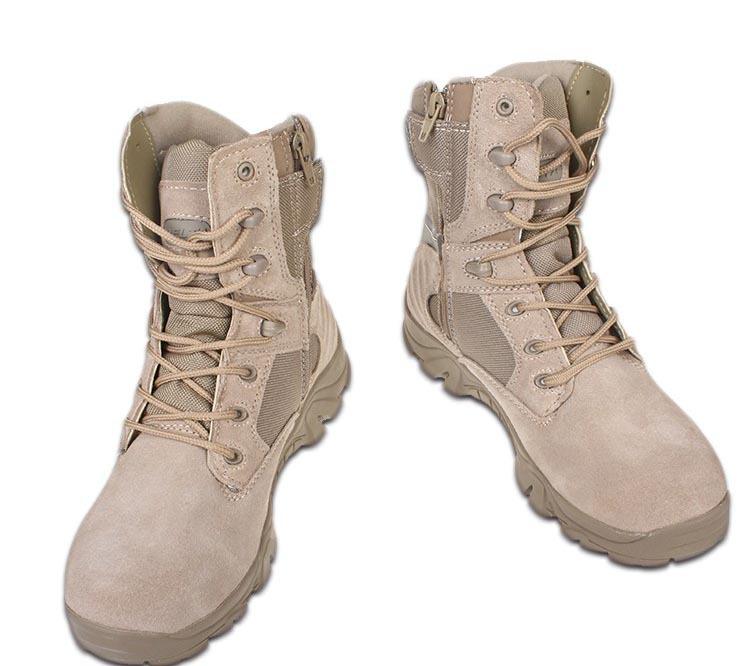 Men Delta Tactical Boots Military Desert Combat Boots Shoes Summer  Breathable Boots 19d5e146177e