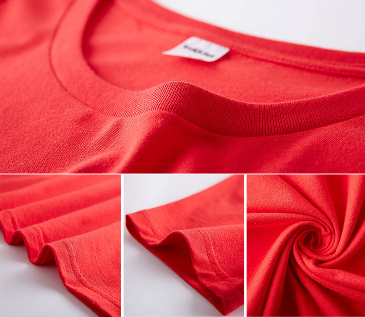 personalized custom printing 100% cotton plain white men t shirt