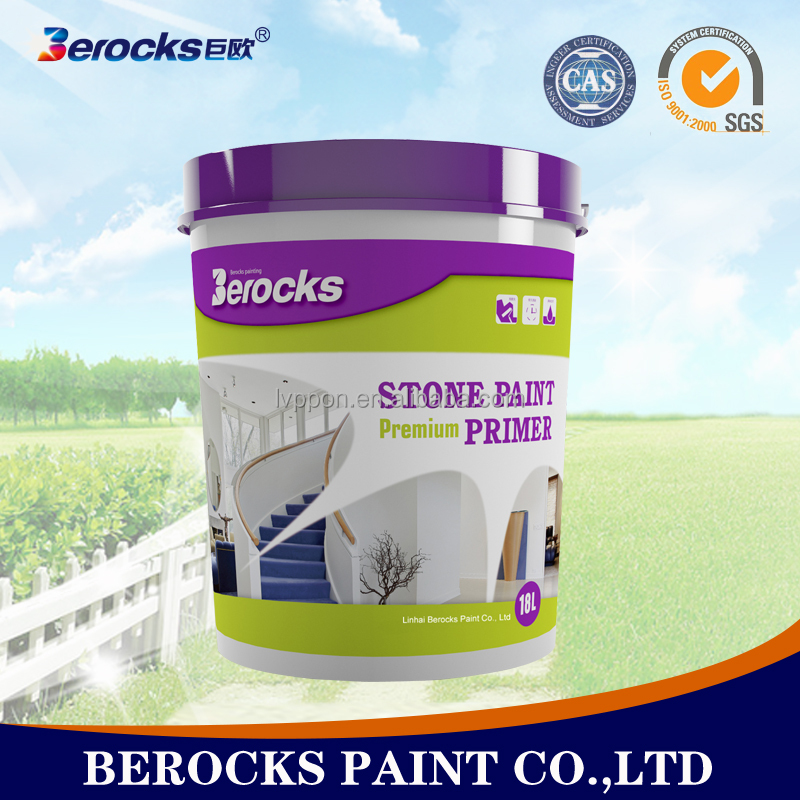 waterproof granite stone paint/Natural texture stone effect paint 18L/