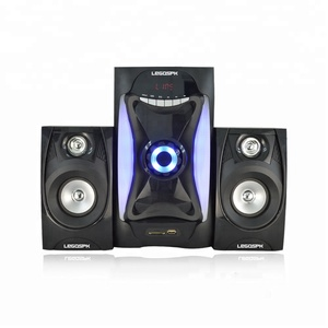 2.1CH 3.1CH 5.1CH audio led speakers,NO player type home theater speaker