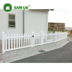 Vinyl Fence Panels Plastic Small Garden Fence Fence With Top Lattice
