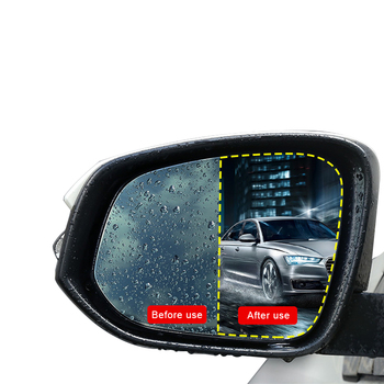 China Factory Car Motorcycle Rearview Mirror Anti Fog Film Hd Anti