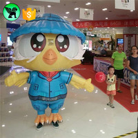 New Design Inflatable Owl Cartoon Costume For Adervitising W05085