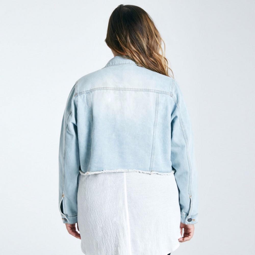 eca46fed218 Wholesale Kissmilk Plus Size Fashion Women Clothing Solid Streetwear ...