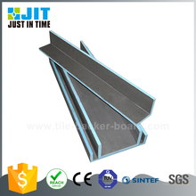 Angled insulation board
