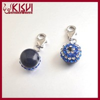 factory price wholesale Crystal Eyes Charms Pendant