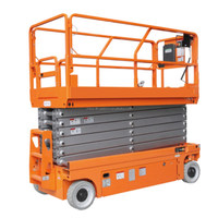 Cheap Indoor Outdoor Mobile Elevated Self Propelled Small Electric Scissor Lift