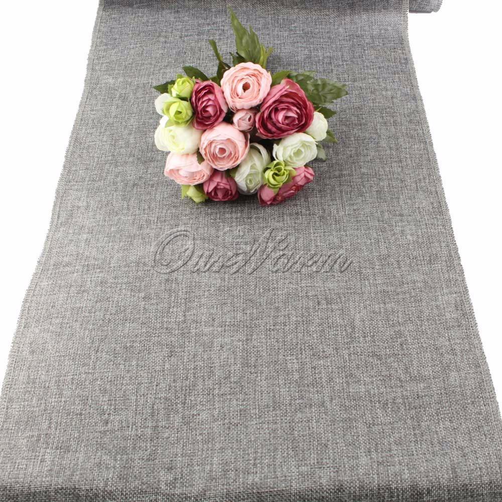 achetez en gros gris chemin de table en ligne des grossistes gris chemin de table chinois. Black Bedroom Furniture Sets. Home Design Ideas