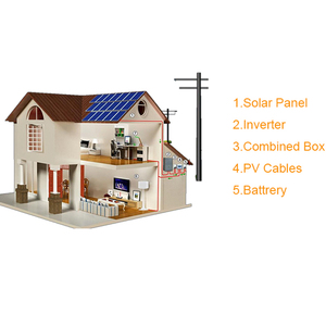 Solar Panel System 10KW Grid Tied Home Solar