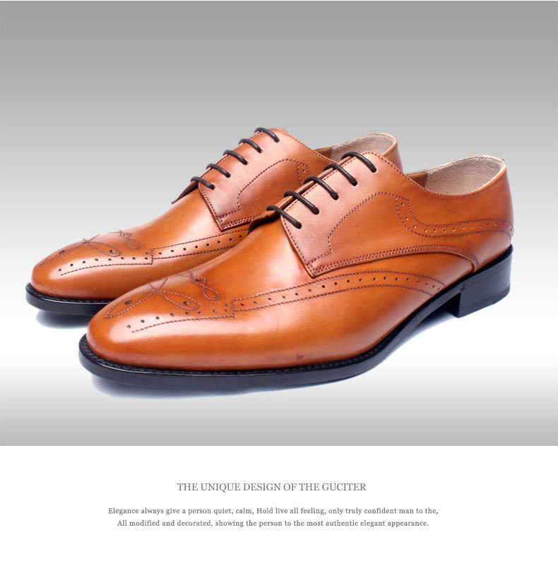 handmade goodyear shoes leather custom shoes with your