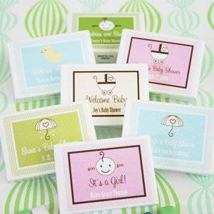 Babies are Sweet Gum Boxes - Baby Shower Gifts & Wedding Favors (Set of 24)
