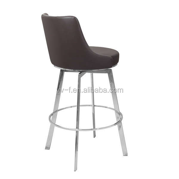 leather adjustable bar chair modern