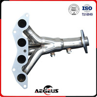STAINLESS STEEL EXHAUST/MANIFOLD 4-1 HEADER FOR 01-05 CIVIC DX/LX D17 1.7L EM2