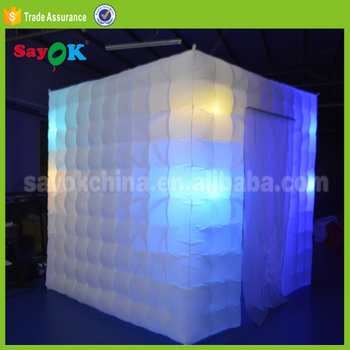 Portable Inflatable Photo Booth Frame Backdrop Wedding Party Favors