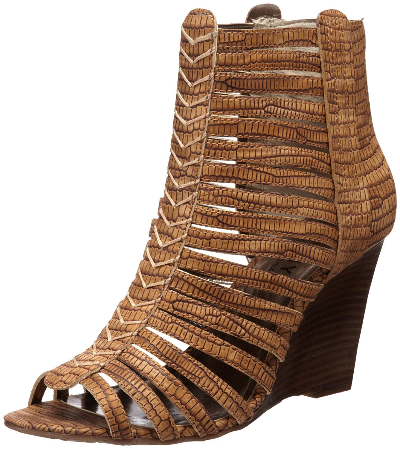 263e548f7f00 Get Quotations · Kathy Van Zeeland Women s Billie Wedge Sandal