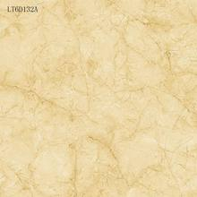 Golden surface marble with crackle full polished glazed porcelain floor tiles that cutting available