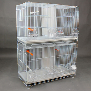 double layers bird parrot breeding cage A16-2