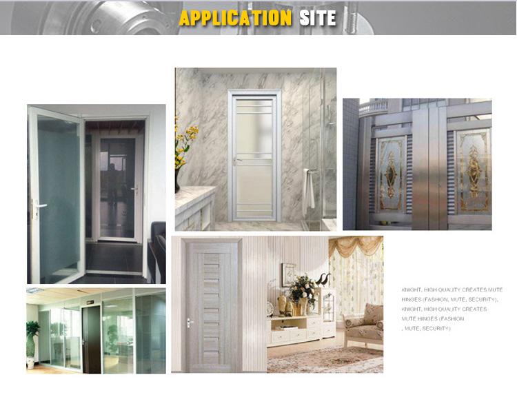 Abrazadera de vidrio de acero inoxidable bisagra de la puerta de cristal de la ducha de baño de hierro forjado puerta bisagras