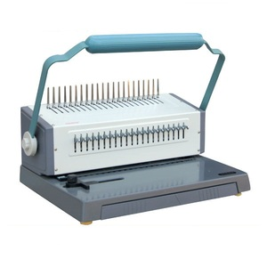 ring handle binding strip document comb thread binding machine(WD-2088H)