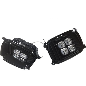 Daytime Running Lights For Kia Sorento 2012 2013 2014 12V ABS LED DRL System Fog Lamps Cover Driving Lights Accessories