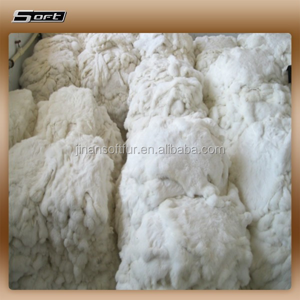 wholesale High Quality Tanned Rabbit Hide And Skin