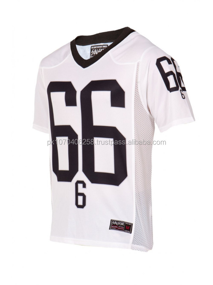 High Quality Customized American football jersey with custom size, number printed football jerseys