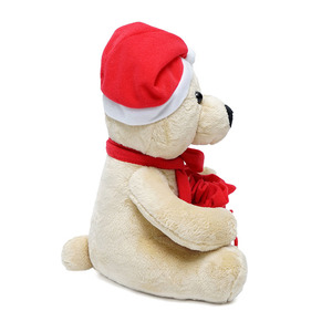 Cheap holiday gift toy christmas gift plush stuffed toy for xmas
