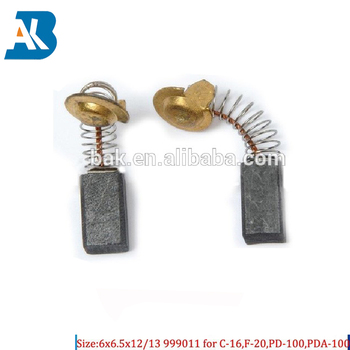 carbon brush size 6x6 5x12/13mm for power tool Carbon Brushes 999011, View  Carbon Brushes for electric powers, BAK Product Details from Taizhou Bak