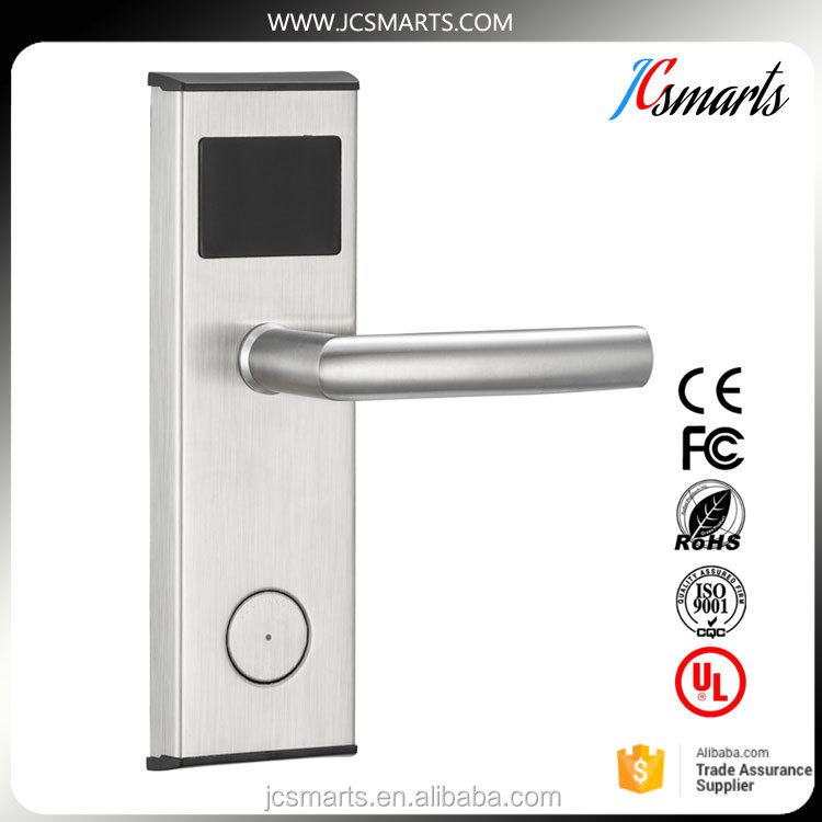 Hotel Swipe card lock systems less repair good quality door lock system