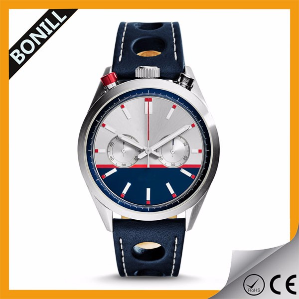High quality luxury singapore movement quartz brand watches for men
