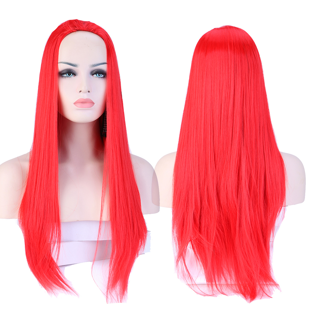 Popular Long Red Wig No Bangs-Buy Cheap Long Red Wig No ...
