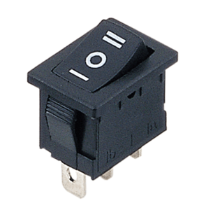 UL RoHS Single Pole (On)-Off-(On) 3 Pin Double Momentary Miniature Rocker Switch T125