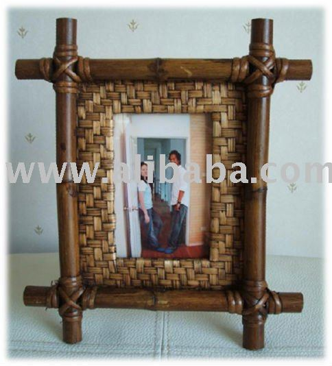 Hand Make Bamboo Photo Frame 35 X 5 Buy Photo Frame Product