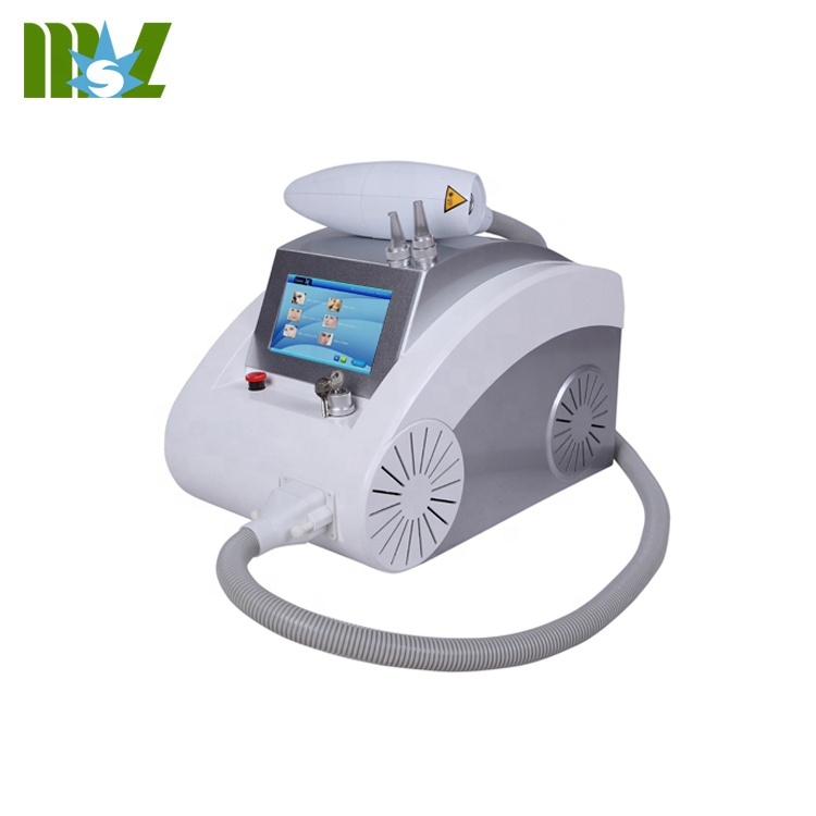 Laser q switch/professional portable q switched nd yag laser tattoo removal machine MSLYL02