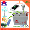 Solar rechargeable batteries 12v 20ah easy operation battery charger