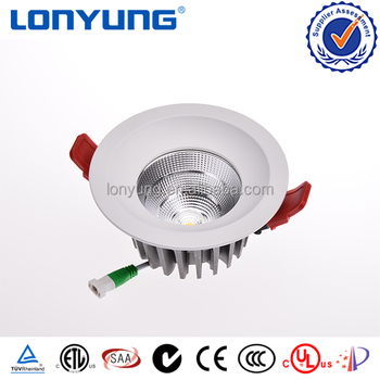 Wholesale prices SAA TUV CE approval Cob led recessed downlights