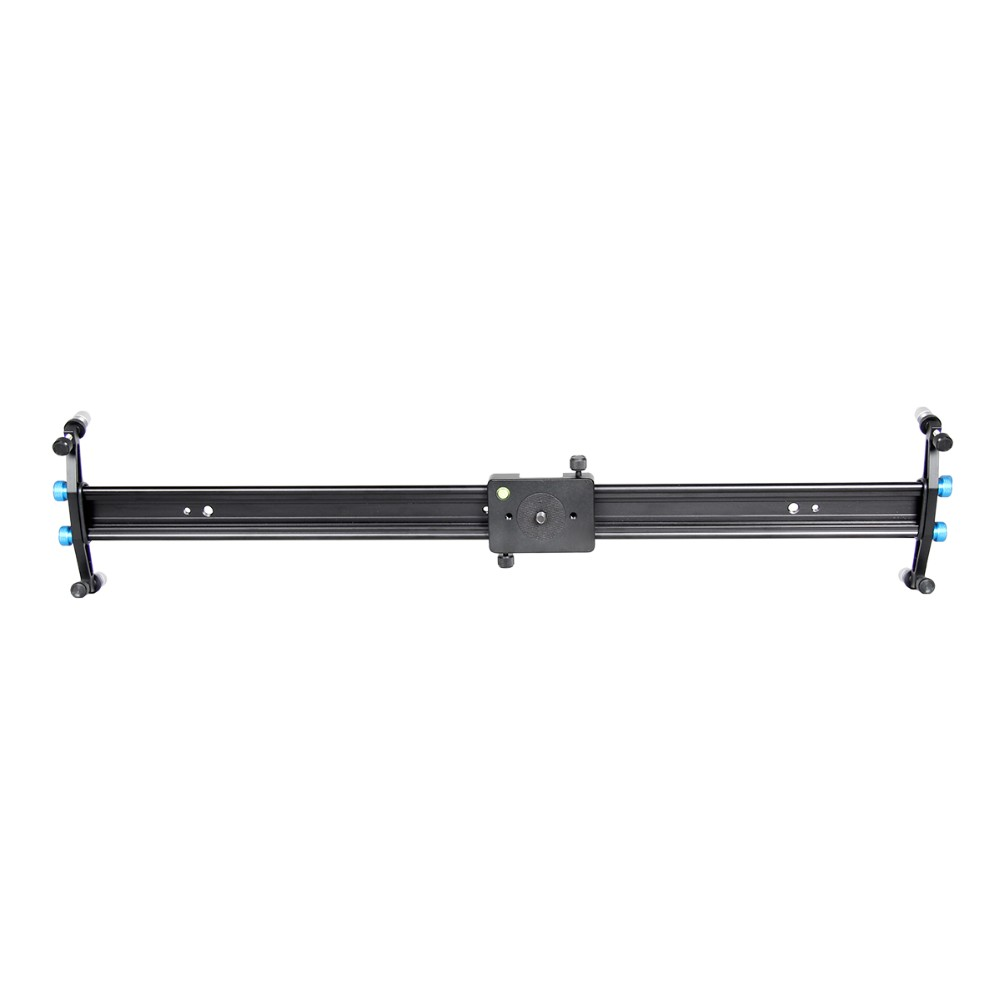 Filming Equipment Gasked Portable Adjustable 60/80/100 Track Dolly Rail Camera Slider