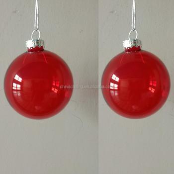 Clear Plastic Christmas Ornaments Wholesale