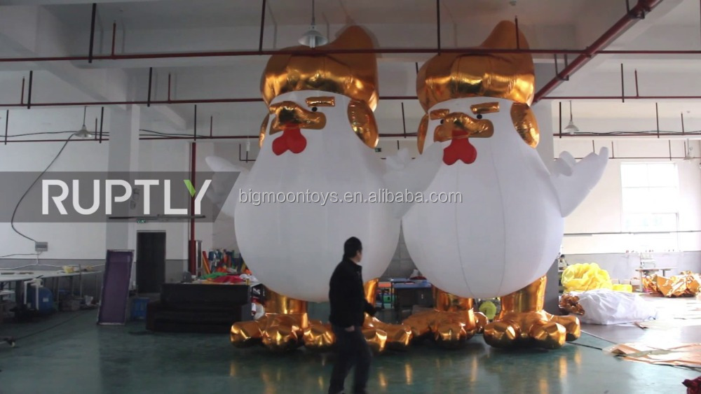 inflatable big Trump turkey model for sale