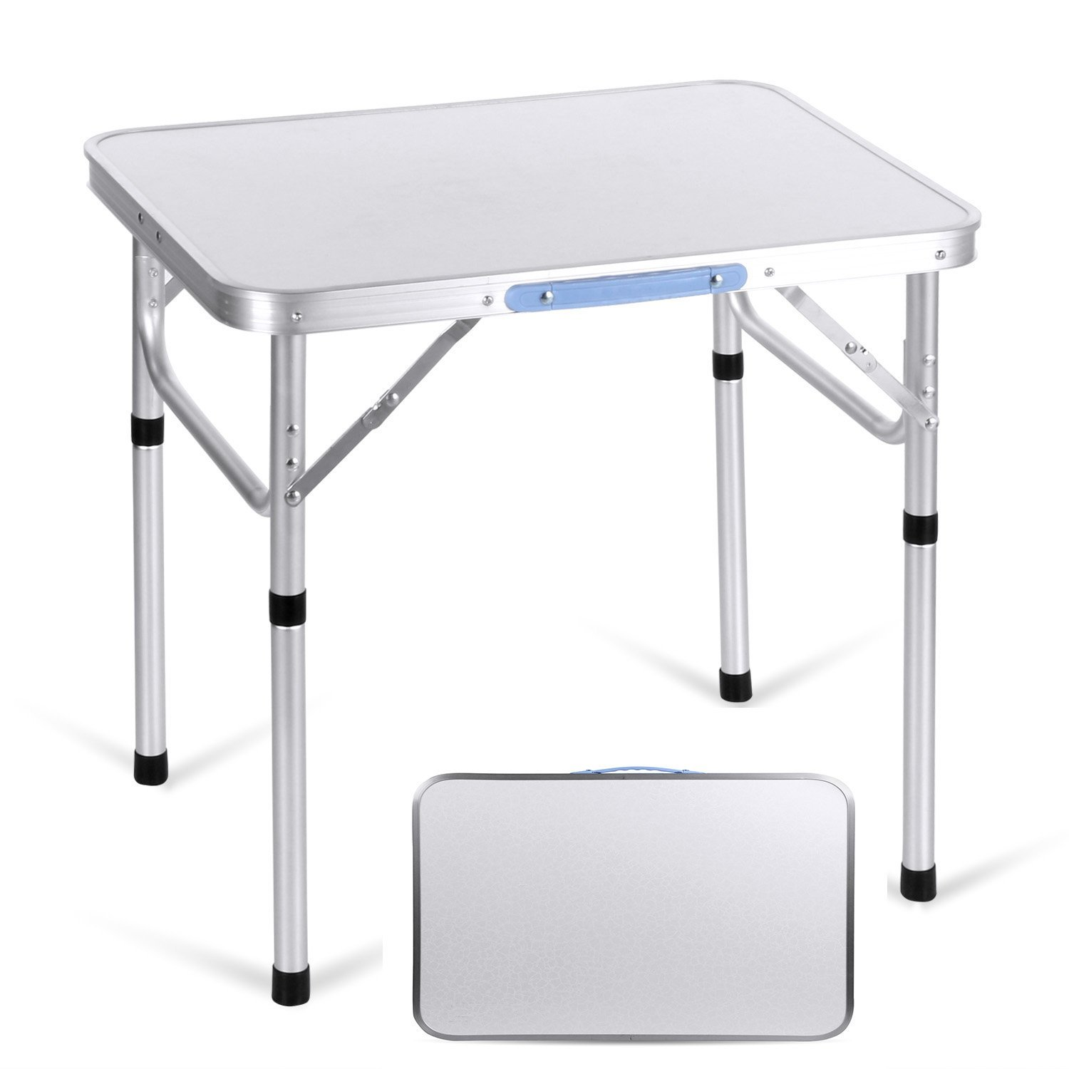 Get Quotations  C2 Bft 4ft Ultralight Aluminum Portable Folding Utility Table With Carrying Handle For Hiking