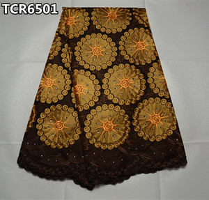 Newest arrival swiss lace fabric bridal lace fabric wholesale african french swiss voile lace TCR65