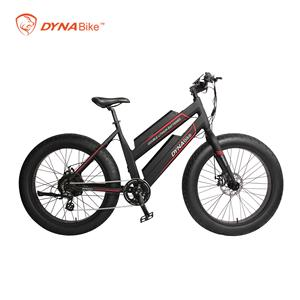 2019 Dynavolt 48V 500W 26'' double battery fat bike electric bike