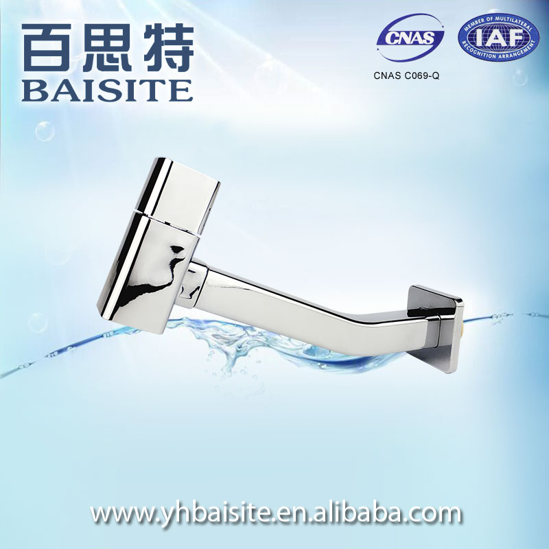 Manufacturer single level basin tap abs wall mount faucet