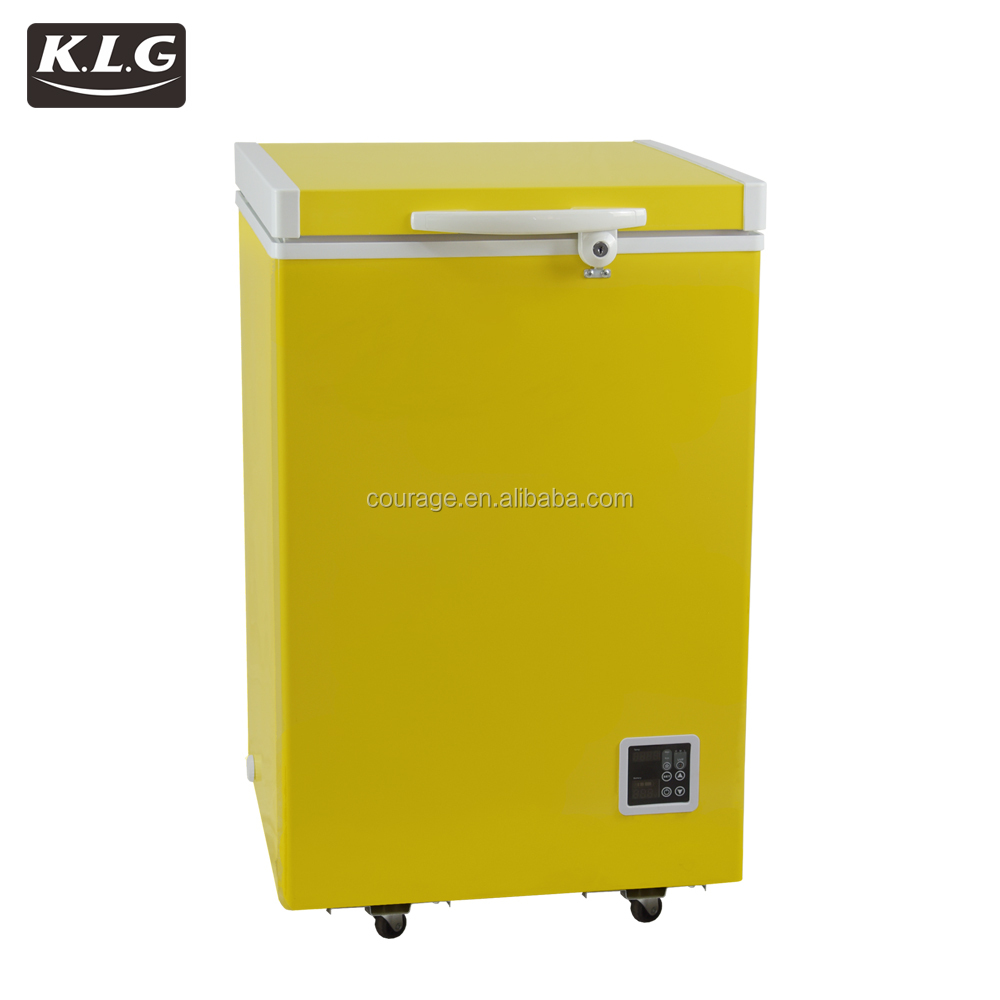 100L 12V DC solar chest freezer with battery