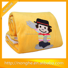 polyester picnic blanket cow printed blanket wholesale blanket