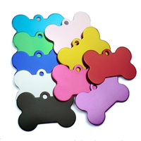 Wholesale Personalized Aluminum Metal Pet ID Tag for Cat and Dog